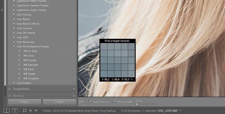 Korekcja balansu bieli w Adobe Lightroom