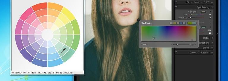 Gradacja kolorystyczna w Adobe Lightroom