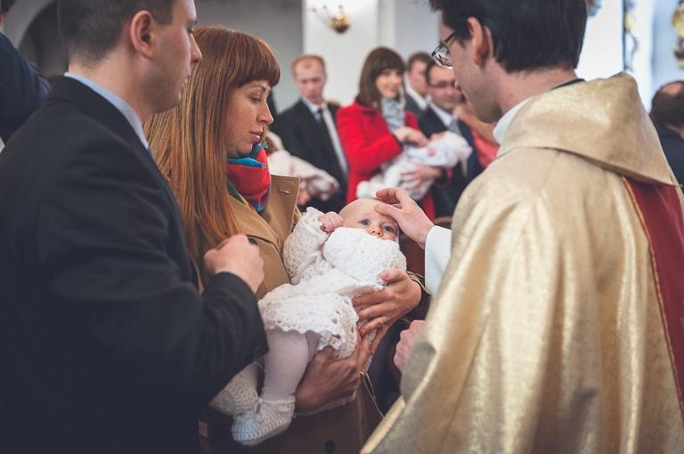 Chrzest święty małej Anny | Wrocław