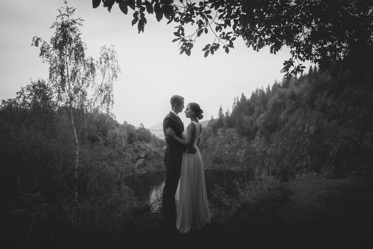 Sesja ślubna - Zosia & Michael   Kamieniołom Kamyki
