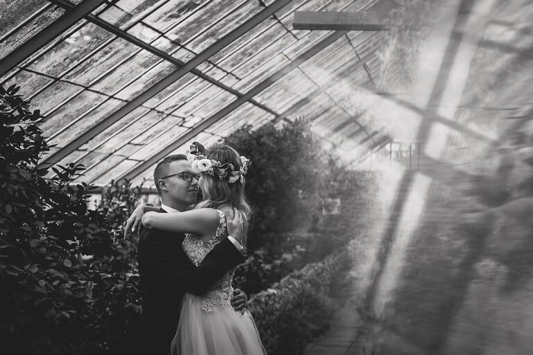 Sesja ślubna - Karolina & Artur   Palmiarnia w Wałbrzychu