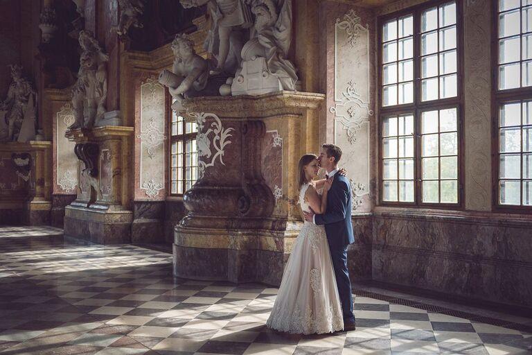 Sesja ślubna - Dominika & Przemek | Opactwo Cystersów