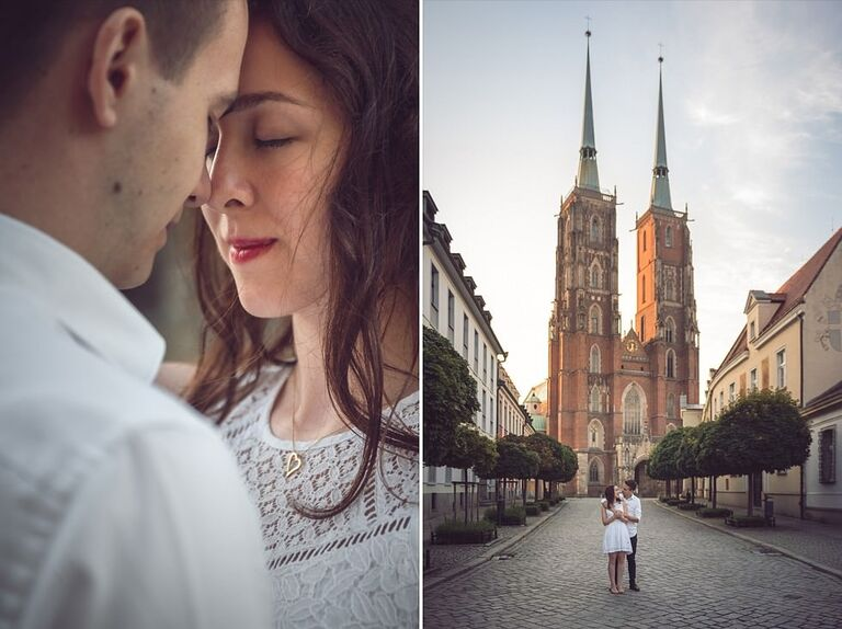 Sesja narzeczeńska - Manuela & Sebastian   Wrocław