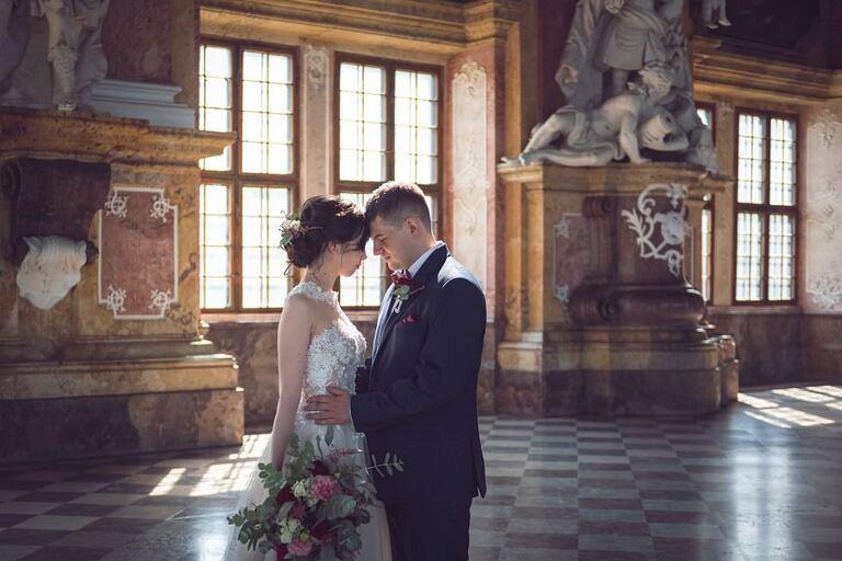 Sesja ślubna - Maika & Piotr | Opactwo Cystersów