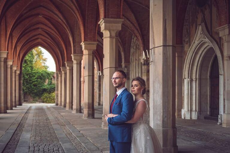Sesja ślubna - Marzena & Bartek | Pałac Marianny Orańskiej w Kamieńcu Ząbkowickim