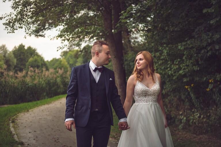Sesja ślubna - Sylwia & Marcin   Park Szczodre