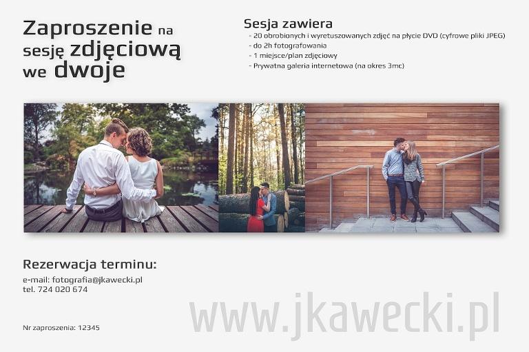 Zaproszenia na sesje Wrocław